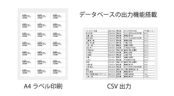 電子カンバン【e-Board】の出力機能